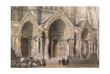 Chartres Cathedral Giclee Print