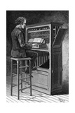 A Codonophone - a New Musical Instrument, 1890 Giclee Print