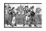 Victorian Reconstruction of Medieval Music Making Giclee Print