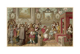 Louis XIV Receives Giclee Print