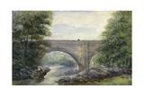 Devil's Bridge, England Giclee Print