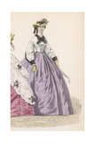 Lilac Skirt Early 1860S Giclee Print