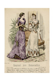 Ball Dress 1891 Giclee Print