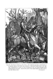 Knight of Death, Durer Giclee Print