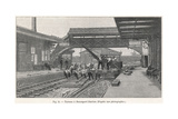 End of Broad Gauge, 1892 Giclee Print