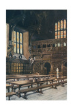 Temple, Middle Hall 1910 Giclee Print