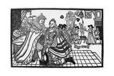Charles I Returns 1623 Giclee Print