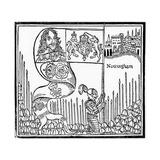 King Charles I Raises His Standard at Nottingham Giclee Print