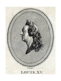 Louis XV - King of France Giclee Print
