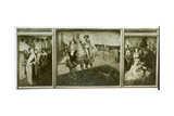 Buondelmontes Treubruch Triptych Celebrating Teutonic Myths and Legends Giclee Print