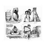Food Adulteration, 1845 Giclee Print