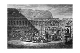 Rome, Colosseum 1875 Giclee Print