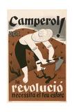 Spanish Civil War Poster - Peasant Giclee Print