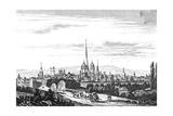 France, Dijon, 1835 Giclee Print