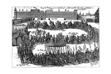 Charles I Visits Spain Giclee Print