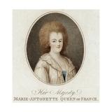 Marie Antoinette, Violet Giclee Print