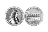 Giovanni Cassini Medal Giclee Print