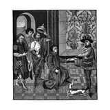 Charlemagne Hears News Giclee Print