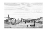 Marseille, Port C1835 Giclee Print