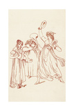 Satire on Amateur Musicians,1799 Giclee Print