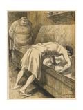 French Boulanger 1907 Giclee Print