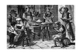 Macaroni, Napoli Giclee Print