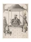 Shah Jahan I and Court Giclee Print