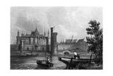 Paris Louvre C16 Giclee Print