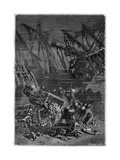 20000 Leagues under the Sea, Jules Verne Giclee Print