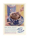 Advert for Cadbury's 'Cup' Chocolate Giclee Print