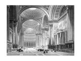 Paris, France - Eglise de La Madeleine Giclee Print