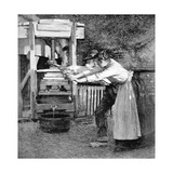 Sussex Cider Press Giclee Print