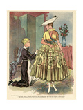 Yellow Dress 1916 Giclee Print
