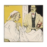 Michel and Doctor, Germ '31 Giclee Print