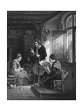 Lace Making, Flanders Giclee Print