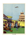 An Airport Giclee Print
