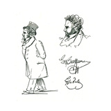 Beethoven (Lyser) Giclee Print