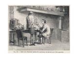 Galvani Replicated Giclee Print