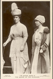 Queen Mary of Teck and Elisabeth of Belgium Photographic Print