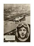Charles Augustus Lindbergh Giclee Print
