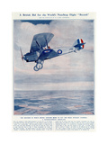 British Bid for the World's Non-Stop Flight Record 1927 Giclee Print