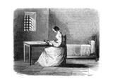 Marie Lafarge in Prison Giclee Print