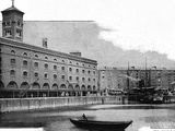 St Katharine's Dock, 1902 Photographic Print