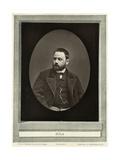 Emile Zola Giclee Print