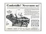 WW1 - Product Advertisement - Convalescing in Comfort Giclee Print