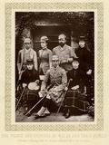 Edward VII, Family C.1883 Reproduction photographique
