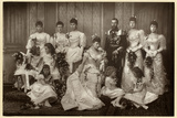 Duke and Duchess of York with Bridesmaids Photographic Print