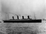 Titanic Leaves Belfast Photographic Print