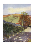 Yorkshire, Danby Beacon Giclee Print