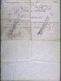 Passport 1914 Reverse Photographic Print